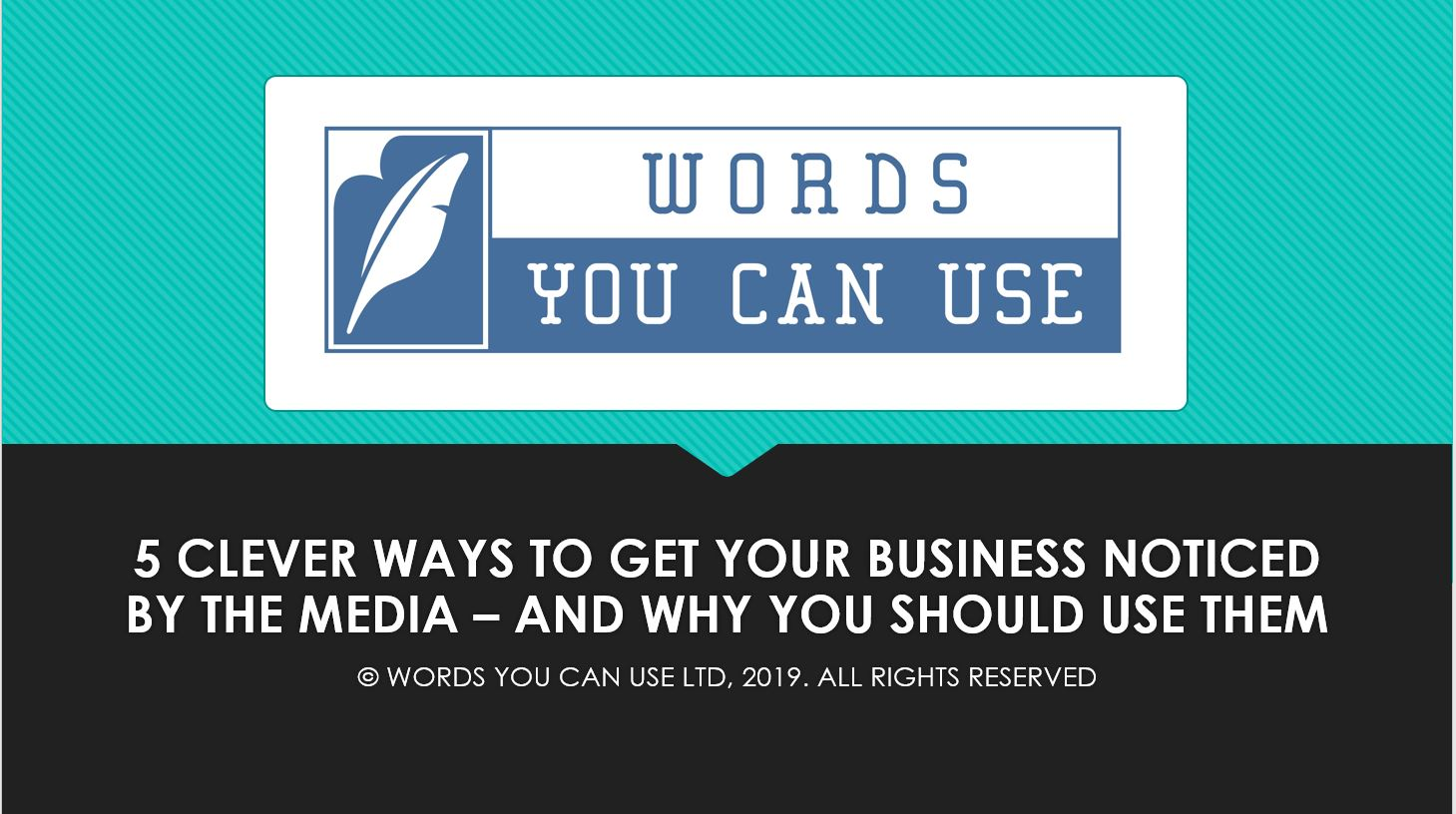 5 Clever Ways to get Your Business Noticed by the Media