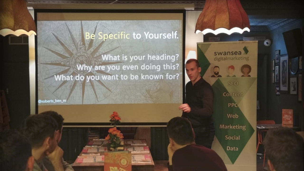 become a speaker at Swansea Digital Marketing