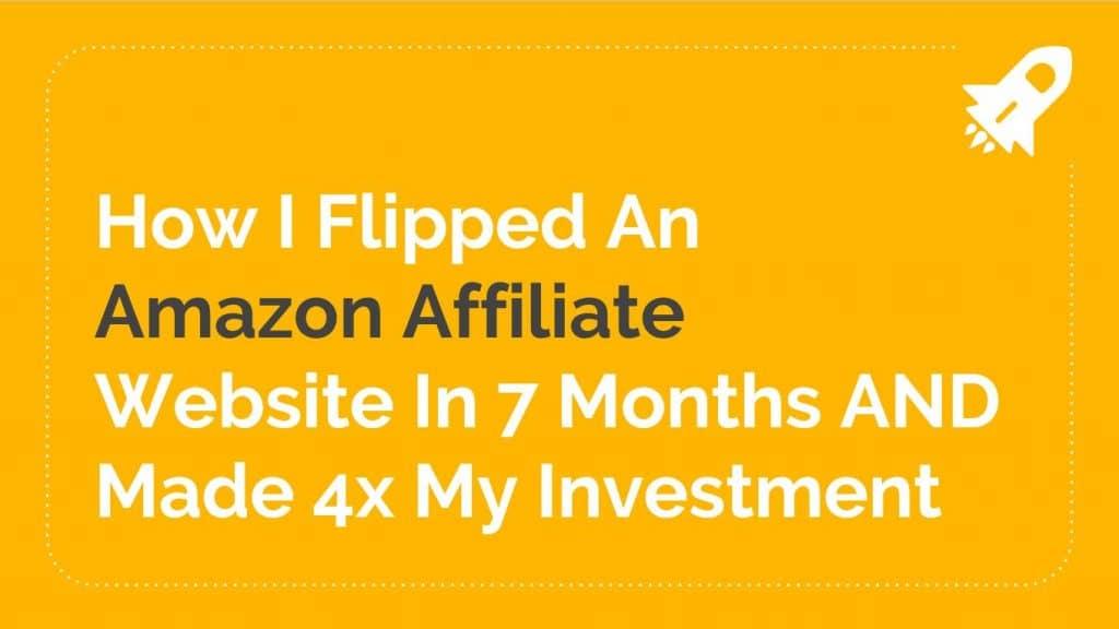 How I Flipped an Amazon Affiliate Website | Swansea Digital Marketing meetup