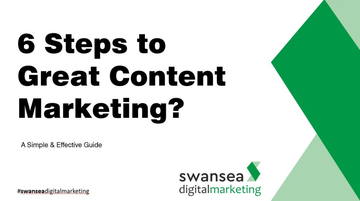 6 steps to great content marketing | Swansea Digital Marketing