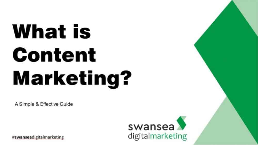 What is Content Marketing | Swansea Digital Marketing meetup