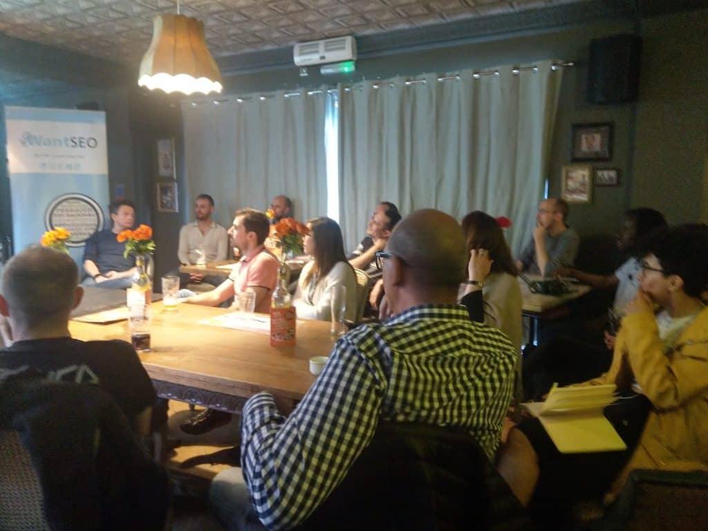 Swansea Digital Marketing Meetup audience