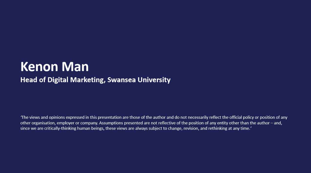 Aligning Content with Strategy | Swansea Digital Marketing meetup