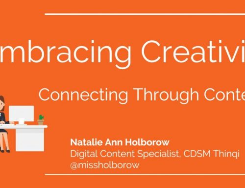 Embracing creativity and connecting through content